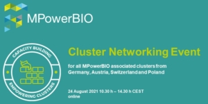 MPowerBIO Cluster Networking Event Title Image
